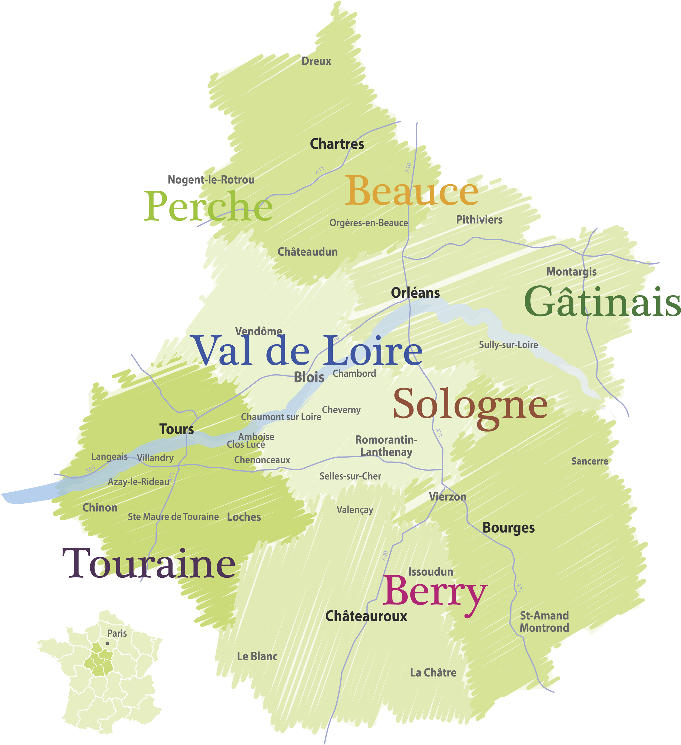 How to get to the Loire Valley